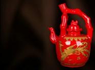 景德镇伟岸陶瓷/陶瓷酒瓶定制批发/提梁壶
